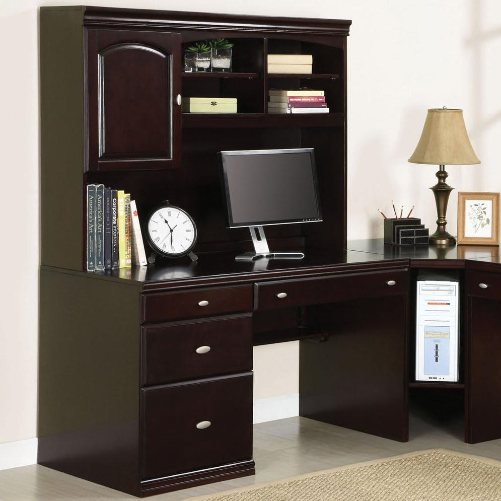Acme Furniture Cape Office Desk and Hutch - Item Number: 92031+30