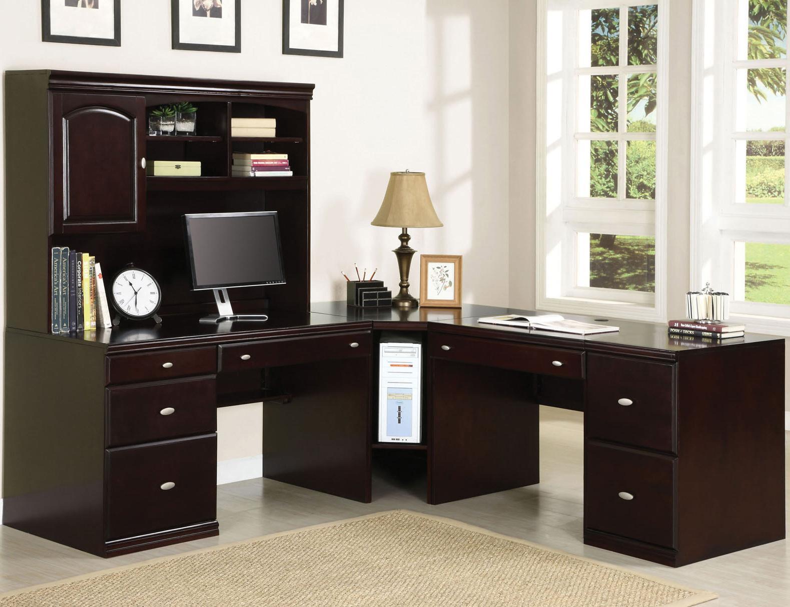 Acme Furniture Cape Corner Desk - Item Number: 92031+33+34+35+30