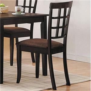Acme Furniture Cardiff Espresso Side Chair