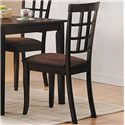 Acme Furniture Cardiff Espresso Side Chair - Item Number: 06851