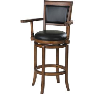 Acme Furniture Chelsea Swivel Barstool W/Armrest