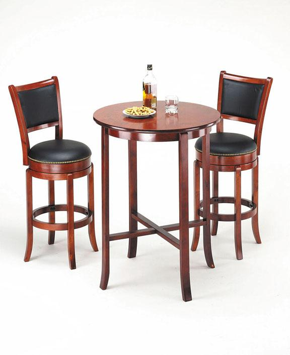 Acme Furniture Chelsea Bar Set with Stools - Item Number: 07195+2X07196
