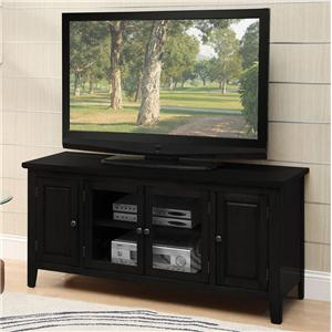 Acme Furniture Christella TV Stand with 4 Doors