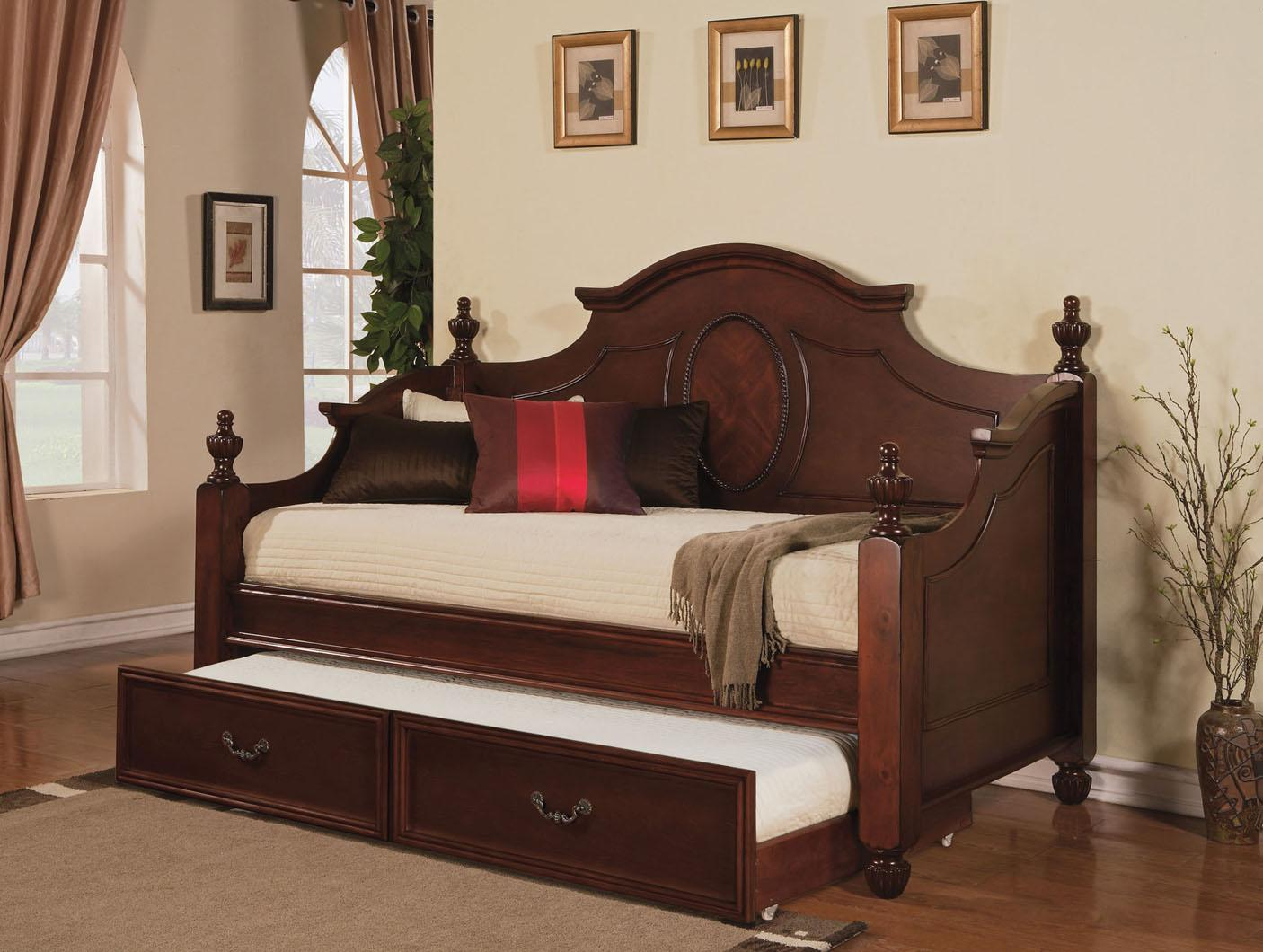 Acme Furniture Classique Daybed w/ Trundle - Item Number: 11850+11851+11852+11853