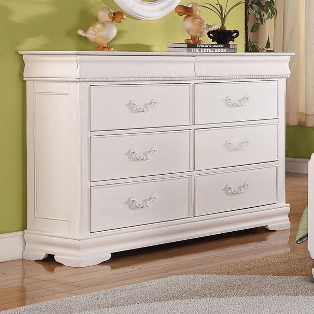 Acme Furniture Classique Dresser - Item Number: 30131