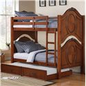 Acme Furniture Classique Bunkbed with Trundle - Item Number: 37005+37008