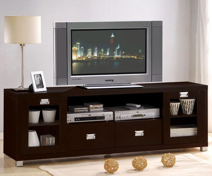 Acme Furniture Commerce Entertainment Console - Item Number: 06365