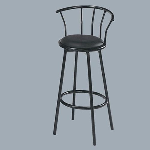 Acme Furniture Cucina Swivel Bar Stool/Black - Item Number: 02046BK