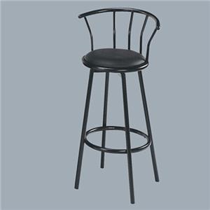 Acme Furniture Cucina Swivel Bar Stool/Black