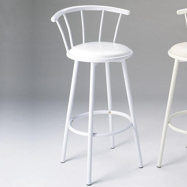Acme Furniture Cucina Swivel Bar Stool/White - Item Number: 02046W
