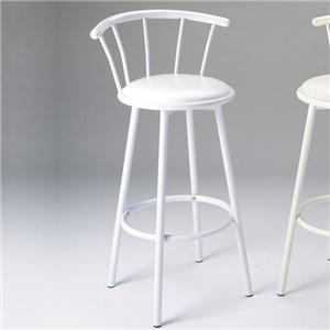 Acme Furniture Cucina Swivel Bar Stool/White