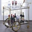 Acme Furniture Cyrus Serving Cart - Item Number: 98372