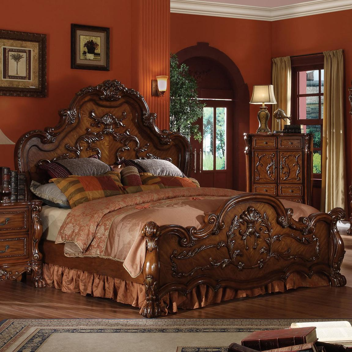 Acme Furniture Dresden California King Bed - Item Number: 12134CK