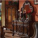 Acme Furniture Dresden Drawer Dresser - Shown with Mirror
