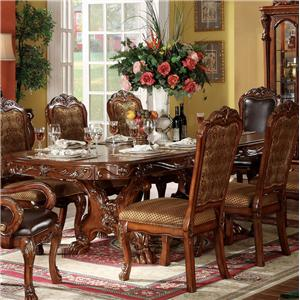 Acme Furniture Dresden Dining Table