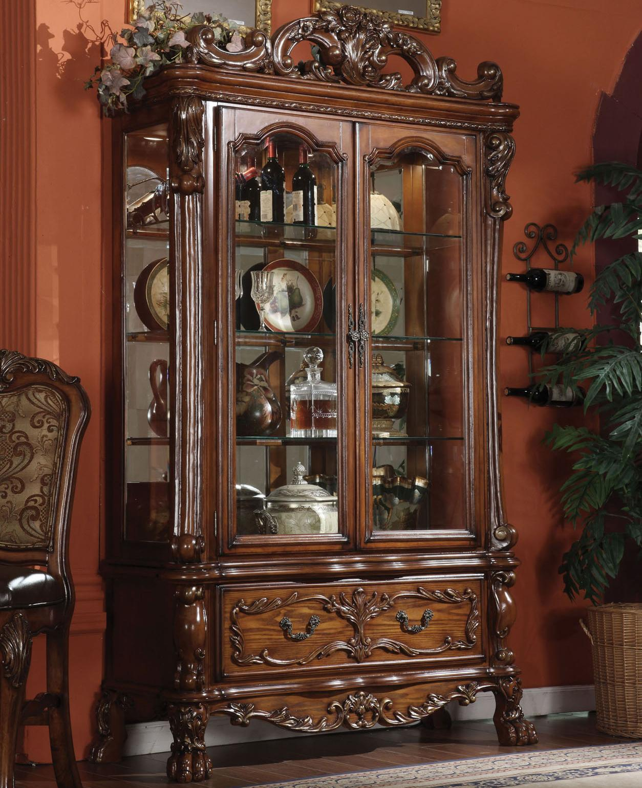 Acme Furniture Dresden Curio - Item Number: 12158