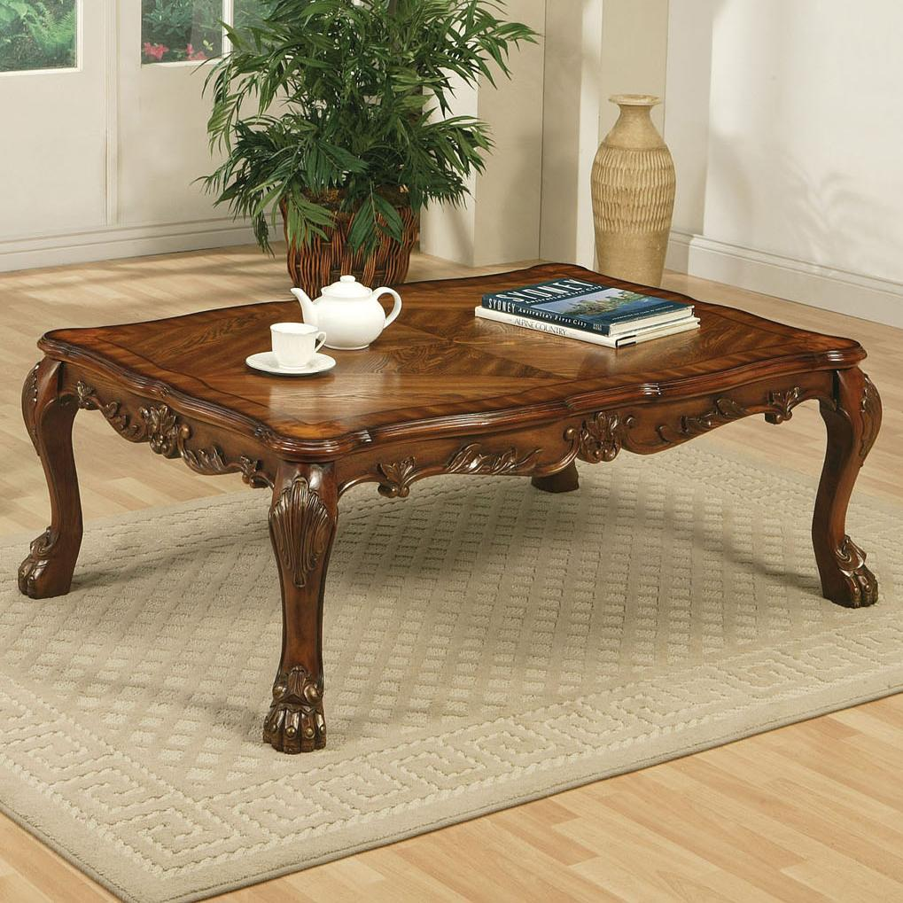 Acme Furniture Dresden Coffee Table - Item Number: 12165