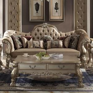 Sofa w/7 Pillows