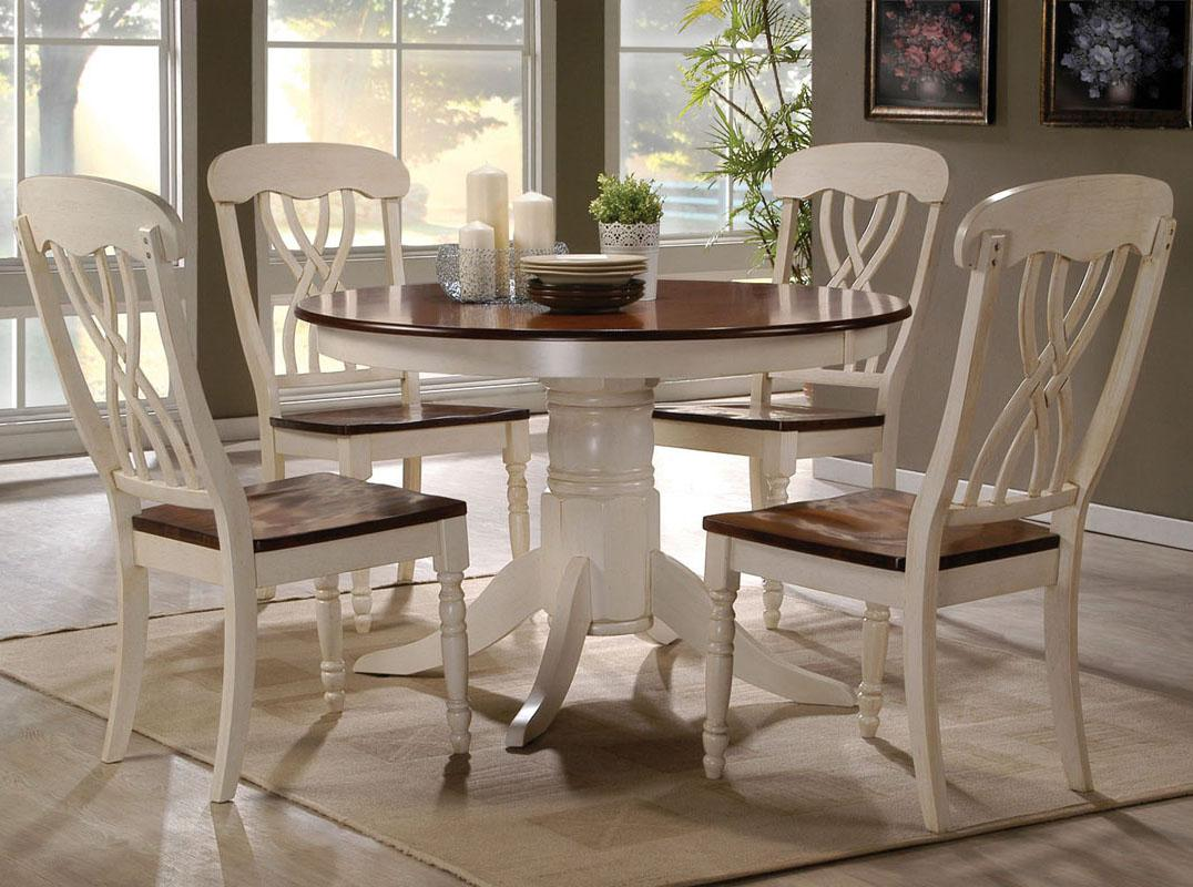 Acme Furniture Dylan 5 Pc Table and Chair Set - Item Number: 70330+4X70333