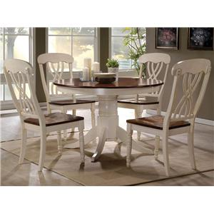 Acme Furniture Dylan 5 Pc Table and Chair Set