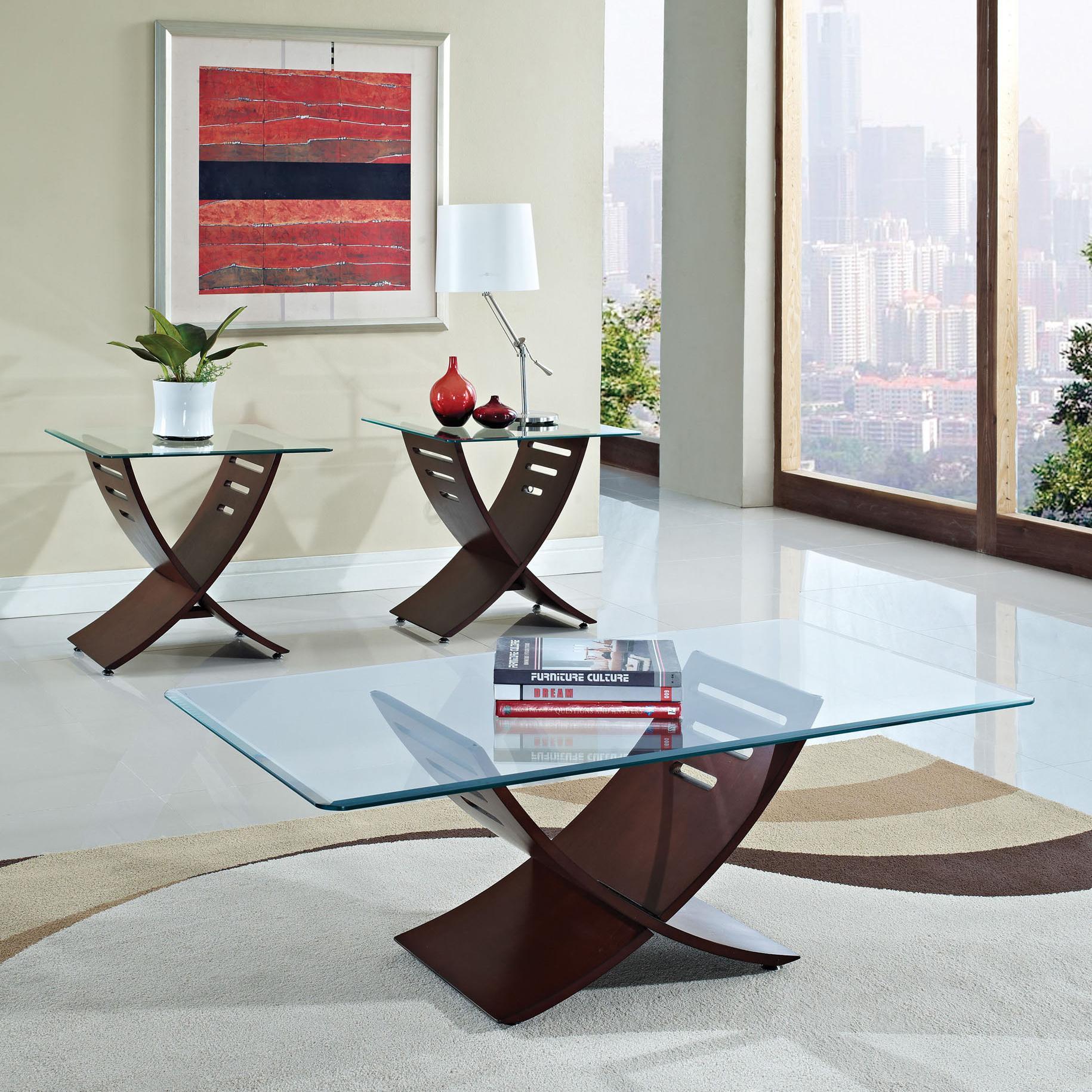 Acme Furniture Elhan 3 Piece Occasional Set - Item Number: 80102 SET