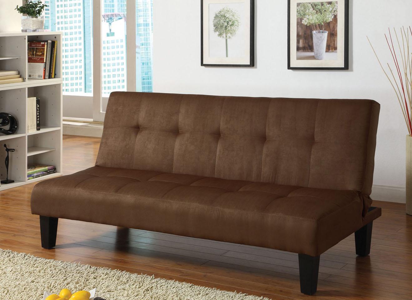 Acme Furniture Emmet Choc Chocolate Mfb Adjustable Sofa - Item Number: 05674