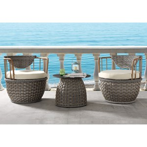 3Pc Patio Chair and Table Set