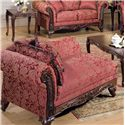 Acme Furniture Fairfax Magenta Chaise - Item Number: 50332