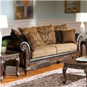 Acme Furniture Fairfax Splurge Traditional Sofa - Item Number: 50340