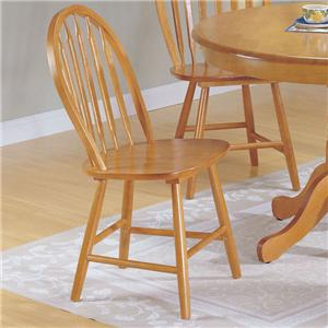 Acme Furniture Farmhouse Arrowback Windsor Chair