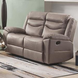 Acme Furniture Fiacre Casual Reclining Loveseat Dream