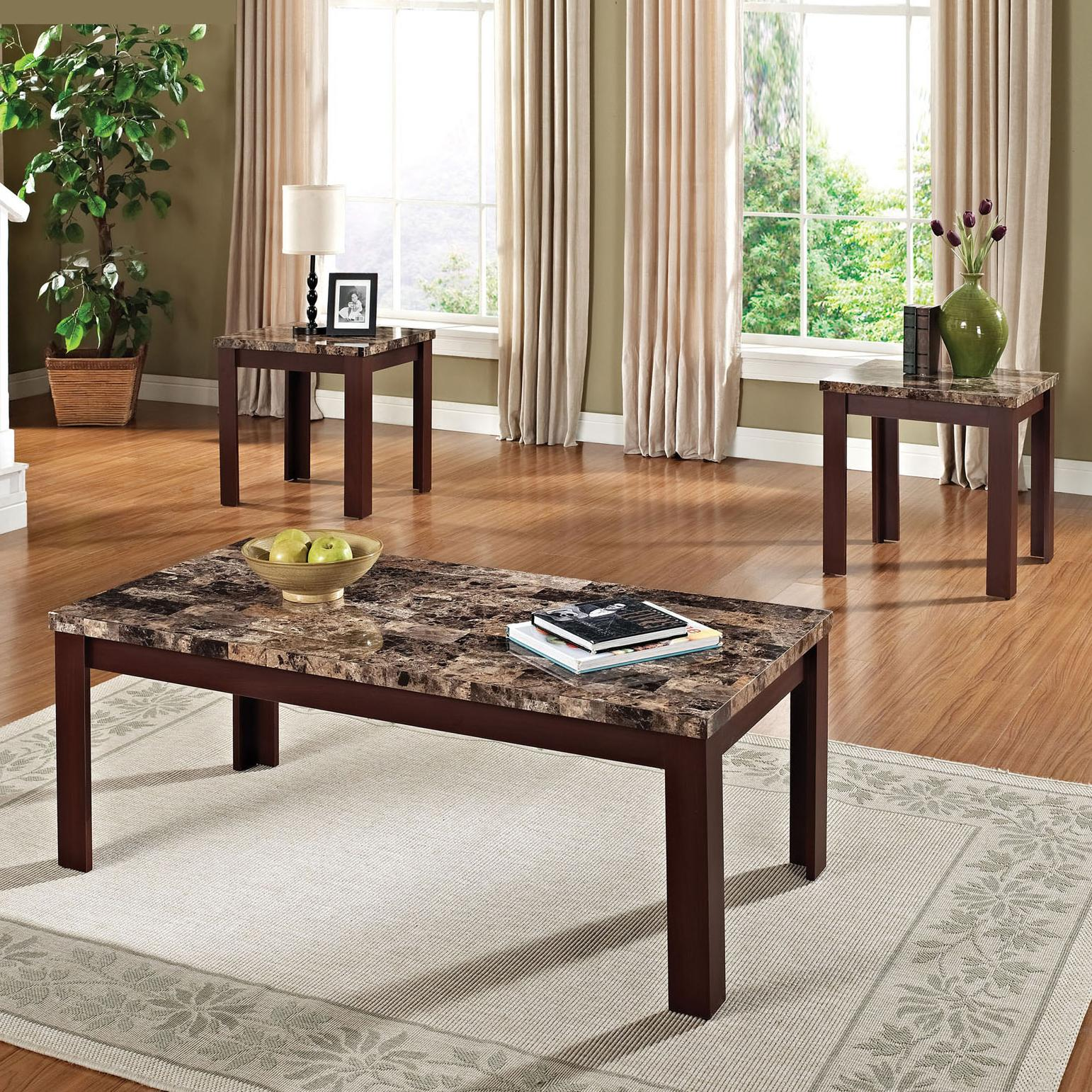 3-Piece Coffee/End Table Set