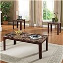 Acme Furniture Finely 3-Piece Coffee/End Table Set - Item Number: 80319