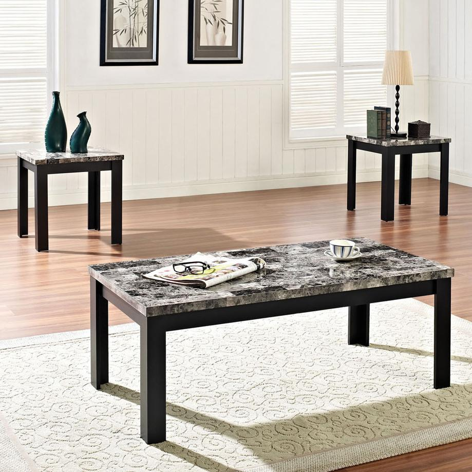 Acme Furniture Finely 3-Piece Coffee/End Table Set - Item Number: 80320