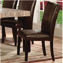 Acme Furniture Fraser 7 Piece Table & Chair Set - Chair Shown