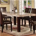 Acme Furniture Fraser 7 Piece Table & Chair Set - Table Shown