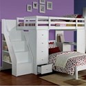 Acme Furniture Freya Loft Bed - Item Number: 37145