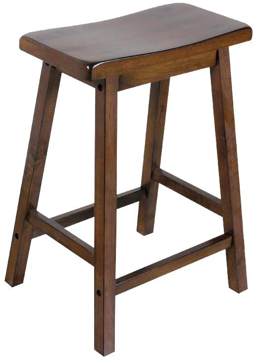 "Acme Furniture Gaucho 24"" Stool - Item Number: 07304"