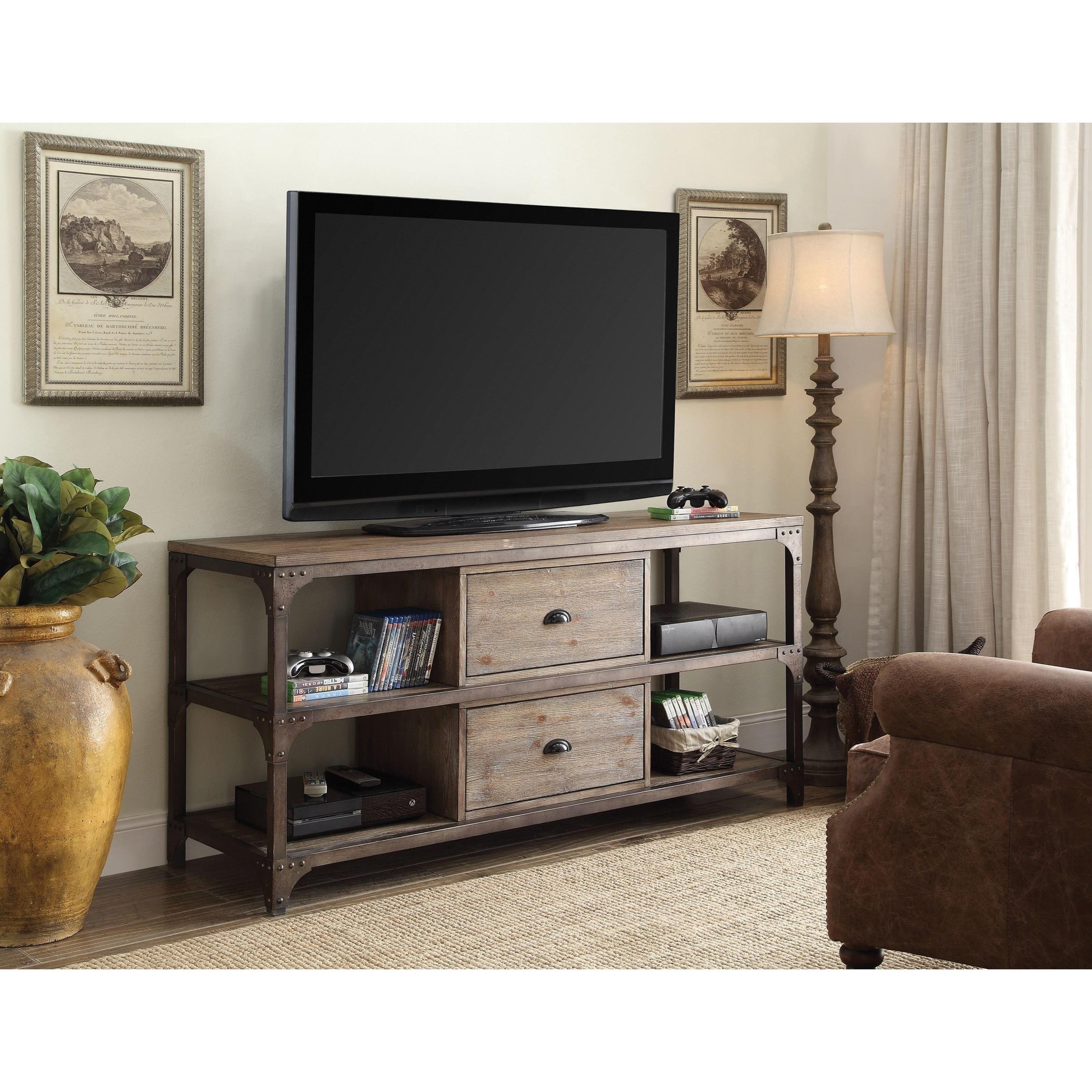 Gorden TV Stand by Acme Furniture at Carolina Direct