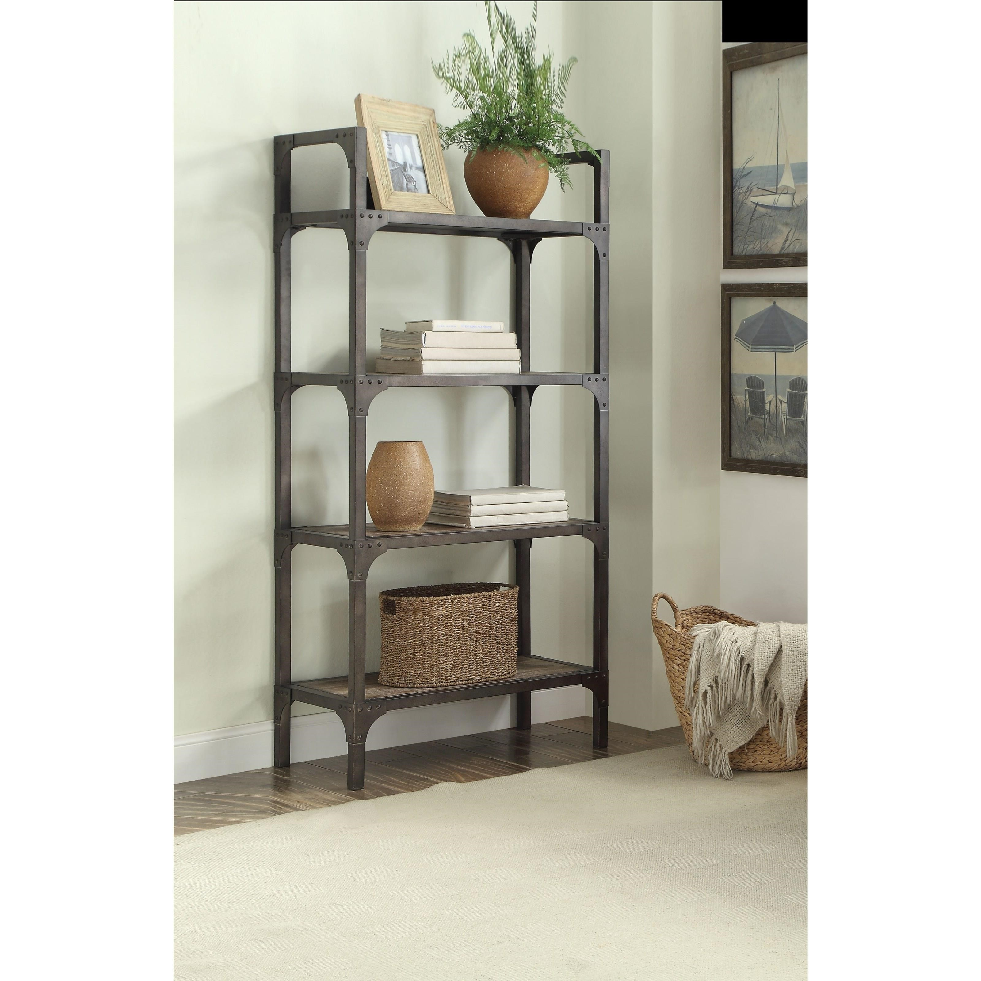 Gorden Bookshelf by Acme Furniture at Carolina Direct