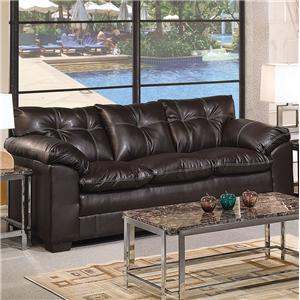 Acme Furniture Hayley 3-Seater Stationary Sofa