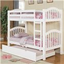 Acme Furniture Heartland Bunkbed & Trundle - Item Number: 02354+02356KD