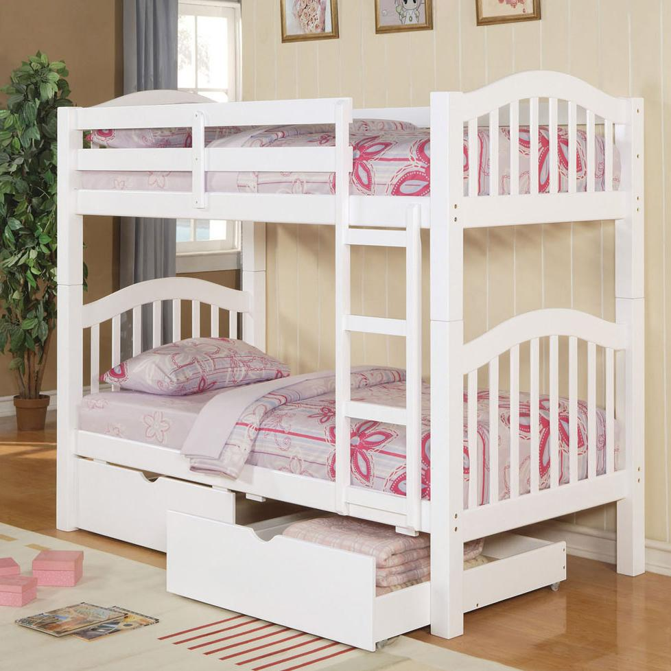 Acme Furniture Heartland Bunkbed & Drawers - Item Number: 02354+02357KD