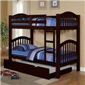 Acme Furniture Heartland  Bunkbed & Trundle - Item Number: 02554+02556