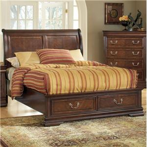 Acme Furniture Hennessy California King Storage Bed