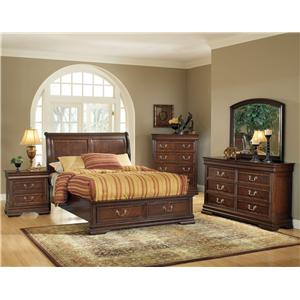 Acme Furniture Hennessy Queen Bed Bedroom Group