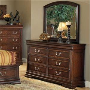 Acme Furniture Hennessy Dresser & Mirror