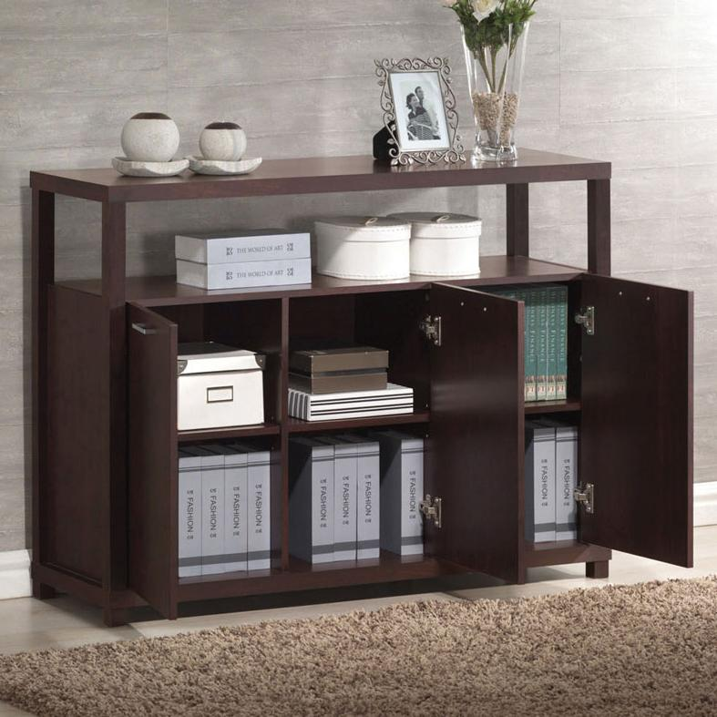 Acme Furniture Hill 3 Door Cabinet - Item Number: 08278