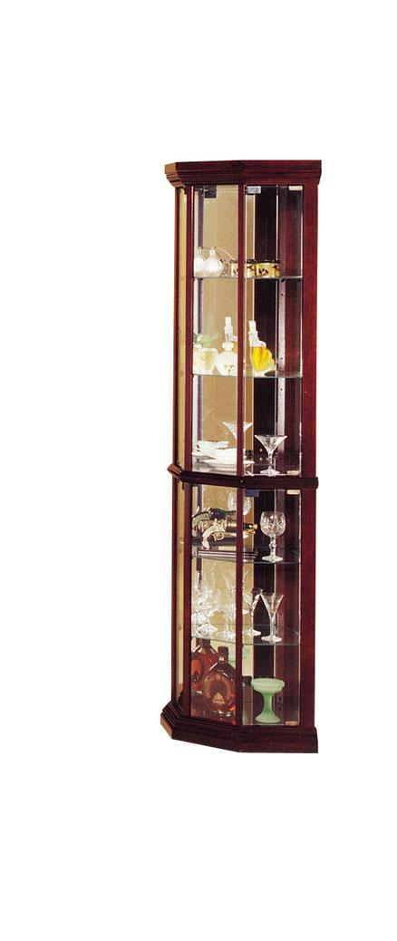 Acme Furniture Martha Glass Corner Cabinet - Item Number: 02347
