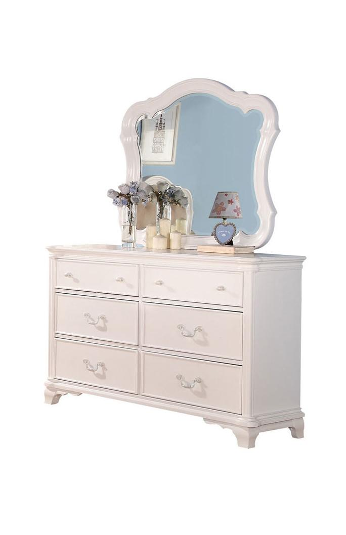 Acme Furniture Ira Dresser and Mirror Combo - Item Number: 30150+30149